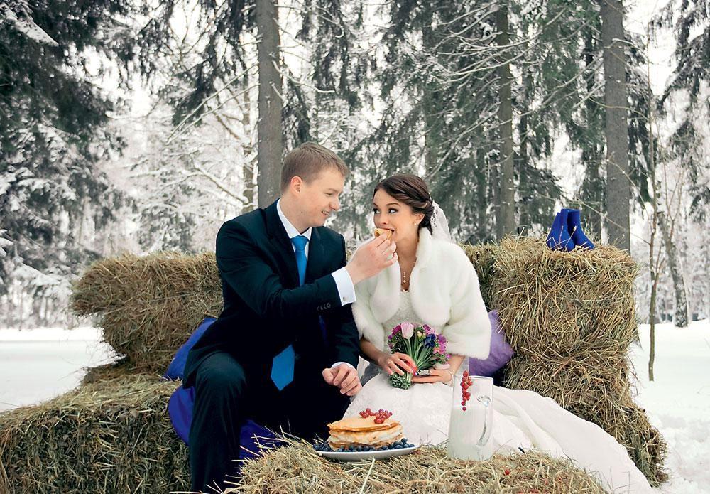 Свадьба на масленицу: приметы